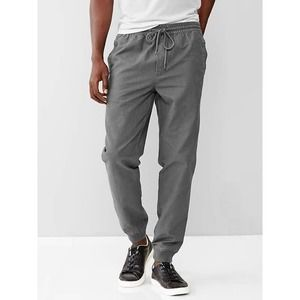 Gap Canvas Gray Joggers NWT